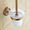preiswerte Bodenabfluss-WC-Bürstenhalter Traditionell Messing 1 Stück - Hotelbad