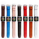 abordables Fundas para Teléfono & Protectores de Pantalla-Ver Banda para Apple Watch Series 3 / 2 / 1 Apple Hebilla Clásica Cuero Auténtico Correa de Muñeca