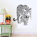 baratos Adesivos de Parede-Autocolantes de Parede Decorativos - Etiquetas de parede de animal Paisagem Animais Romance Sala de Estar Quarto Banheiro