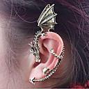 preiswerte Modische Ohrringe-Ohr-Stulpen - Drache Retro, Gothic Silber / Golden Für Halloween Alltag Normal