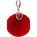 tanie Łańcuszki do kluczy-Łańcuszek do kluczy Czerwony / Różowy / Lawendowy Stop Moda Na Urodziny / Prezent