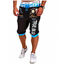 cheap Kitchen Appliances-Men's Active Cotton Active / Relaxed / Sweatpants Pants - Letter Print / Sports