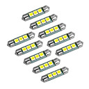abordables Bombillas LED-YouOKLight Coche Bombillas 1W SMD 5050 60lm LED Luces interiores