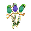cheap Pins and Brooches-Women's Alloy Golden Jewelry Party Daily Casual Costume Jewelry