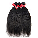 cheap One Pack Hair-evet unprocessed brazilian 100 real virgin human hair weave kinky straight extensions 3 bundles