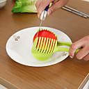 halpa Muoti-rintaneulat-Kitchen Tools Muovi Creative Kitchen Gadget Cutter & Slicer vihannesten 1kpl