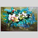 baratos Pinturas de Natureza Morta-Pintura a Óleo Pintados à mão - Vida Imóvel Estilo Europeu Modern Tela de pintura