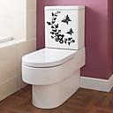 baratos Adesivos de Parede-Gadget de Banheiro Modern PVC Papel 1 Pça. - Banheiro Outros acessórios para banheiro