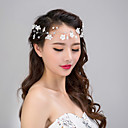 cheap Hair Jewelry-Women's Pearl Crystal Alloy Hair Jaw Clip Flower