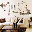 billige Veggklistremerker-Dekorative Mur Klistermærker - Ord og sitater Wall Stickers Landskap / Dyr / Romantik Stue / Soverom / Baderom