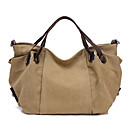 cheap Totes-Women's Bags Canvas Tote for Casual Blue / Khaki / Purple
