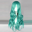 cheap Headsets & Headphones-Cosplay Wigs Sailor Moon Sailor Neptune Anime Cosplay Wigs 65 CM Heat Resistant Fiber Women's