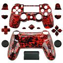 baratos Acessórios para PS4-Peças de reposição de controlador de jogo Para PS4 ,  Peças de reposição de controlador de jogo ABS 1 pcs unidade