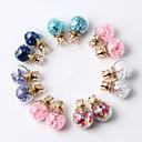 cheap Earrings-Women's Stud Earrings - Dark Purple / Rainbow / Watermelon Pink For Daily / Casual