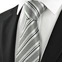 baratos Acessórios Masculinos-Homens Luxo Clássico Festa Listras Casamento Gravata - Fashion Criativo