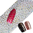 cheap Nail Stickers-100x4cm Latest Glitter Nail Art Full Tips Wraps DIY Cobweb Sexy Nail Foils Transfer Polish Adhesive Sticker Nail Decals