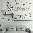baratos Adesivos de Parede-Autocolantes de Parede Decorativos - Etiquetas de parede de animal Paisagem Animais Sala de Estar Quarto Banheiro Cozinha Sala de Jantar