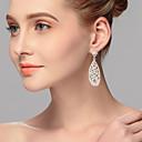 Χαμηλού Κόστους Σκουλαρίκια-Γυναικεία Κρεμαστά Σκουλαρίκια - Κλασσικό Ασημί Για Πάρτι