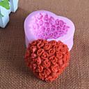billige Bakeredskap-Bakeware verktøy Silikon Gummi 3D / Bursdag Kake / Pai / Sjokolade Bakeform 1pc
