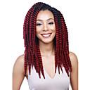 baratos Tranças de Cabelo-Cabelo para Trançar Havana Tranças torção / Extensões de Cabelo Natural 100% cabelo kanekalon 12 raízes / pacote Tranças de cabelo Diário