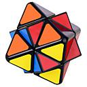 billige Rubiks kuber-Rubiks kube WMS Alien Octahedron Glatt Hastighetskube Magiske kuber Kubisk Puslespill profesjonelt nivå Hastighet Klassisk & Tidløs Barne Voksne Leketøy Gutt Jente Gave