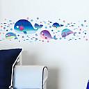 hesapli Banyo dekorasyonu-Manzara Hayvanlar Romantizm Fantezi Duvar Etiketler Uçak Duvar Çıkartmaları Dekoratif Duvar Çıkartmaları, Vinil Ev dekorasyonu Duvar