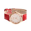 preiswerte Modische Uhren-Damen Armbanduhr Schlussverkauf PU Band Charme / Modisch / Kleideruhr Schwarz / Weiß / Rot / Ein Jahr / Tianqiu 377