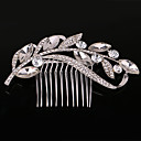 cheap Rings-Women's Party Wedding Crystal Imitation Pearl Hair Comb
