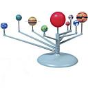 baratos Quebra-Cabeças de Madeira-Brinquedo de Pintura do Sistema Solar Brinquedo Educativo Brinquedo & Modelos de Astronomia Nove planetas Brinquedos Pintura Univers Nove