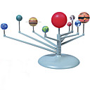 baratos Brinquedos & Modelos de Astronomia-Brinquedo de Pintura do Sistema Solar Brinquedo & Modelos de Astronomia Brinquedo Educativo Pintura Nove Planetas Univers Sistema solar Peças Para Meninos Para Meninas Brinquedos Dom