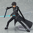 cheap Anime Action Figures-Anime Action Figures Inspired by Sword Art Online Saber PVC 13 CM Model Toys Doll Toy