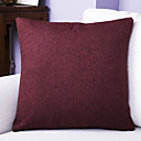 cheap Pillow Covers-1 pcs Linen Pillow Cover, Textured Traditional