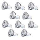 hesapli LED Ampuller-10pcs 3 W 260 lm GU10 / GU5.3 / E26 / E27 LED Spot Işıkları 3 LED Boncuklar Yüksek Güçlü LED Dekorotif Sıcak Beyaz / Serin Beyaz 220-240 V