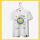 baratos Moletons Estampa de Anime-Inspirado por Sala de aula de assassinato Korosensei Anime Fantasias de Cosplay Cosplay T-shirt Estampado Manga Curta Camiseta Para