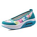 baratos Mocassins Femininos-Mulheres Sapatos Couro Ecológico Primavera / Outono Plataforma Cinzento / Roxo / Azul Claro