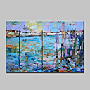 cheap Abstract Paintings-Large Hand Painted Modern Abstract Landscape Oil Painting On Canvas Wall Art With Stretched Frame Ready To Hang
