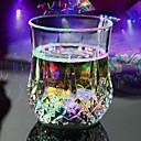 billige Dusjhoder-ledet flash lys whisky skudd drikke glass kopp blinkende øl bar fest bryllup klubb dekorasjon gave