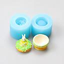 billige Bakeredskap-Bakeware verktøy Silikon Gummi Bursdag / GDS Kake / Til Småkake / Pai Tekneserie Formet Bakeform 1pc