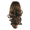 preiswerte Synthetische Perücken ohne Kappe-Kordelzug Pferdeschwanz Elasthan Synthetische Haare Haarstück Haar-Verlängerung Locken
