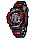 זול שעוני ספורט-SYNOKE שעון דיגיטלי / שעון יד / שעוני ספורט Alarm / לוח שנה / כרונוגרף PU להקה שחור / כחול / ירוק