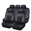 preiswerte Haar Accessoires-CARPASS Autositzbezüge Sitzbezüge Rosa / Beige / schwarz + schwarz PVC Geschäftlich Für Universal