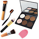 cheap Wall Stickers-6 Colors Powders Pressed powder Bronzers Dry / Combination / Oily Waterproof / Breathable / Whitening Eye / Face China Mirror Makeup Cosmetic