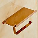 baratos Torneiras de Banheiro-Suporte para Papel Higiênico Moderna Latão 1 Pça. - Banho do hotel