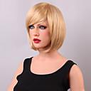 baratos Acessórios para Cabelos-Perucas de cabelo capless do cabelo humano Cabelo Humano Kinky Liso Clássico Alta qualidade Sem Touca Peruca Diário