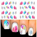 billige Original belysning-2 pcs Negle Smykker Negle kunst Manicure Pedicure Smuk Mode Daglig / PVC / Negle smykker