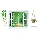 preiswerte Wand-Sticker-Dekorative Wand Sticker - 3D Wand Sticker Landschaft / Stillleben / Mode Wohnzimmer / Schlafzimmer / Badezimmer / Abziehbar