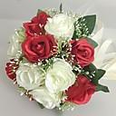 "cheap Artificial Flower-Wedding Flowers Bouquets Wedding / Party / Evening Satin 9.84""(Approx.25cm)"
