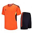 billige Fotball skjorter og shortser-Herre Fotball Klessett Fort Tørring Pustende Vår Sommer Vinter Høst Terylene Trening & Fitness Fritidssport Fotball Løp