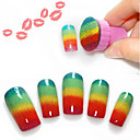 baratos Adesivos de Parede-Ferramenta de Nail Art arte de unha Manicure e pedicure Esponja / Plástico Clássico Diário / Ferramentas de desenho