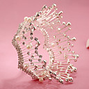 cheap Synthetic Capless Wigs-Rhinestone / Alloy Tiaras / Headbands with 1 Wedding / Special Occasion / Birthday Headpiece